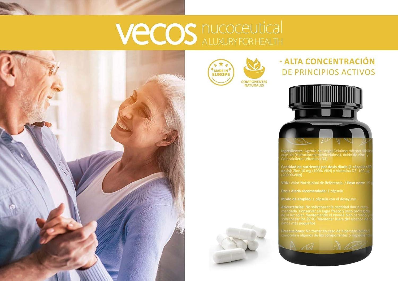 Vitamina D Vecos para el mantenimiento de huesos y la mejor ...