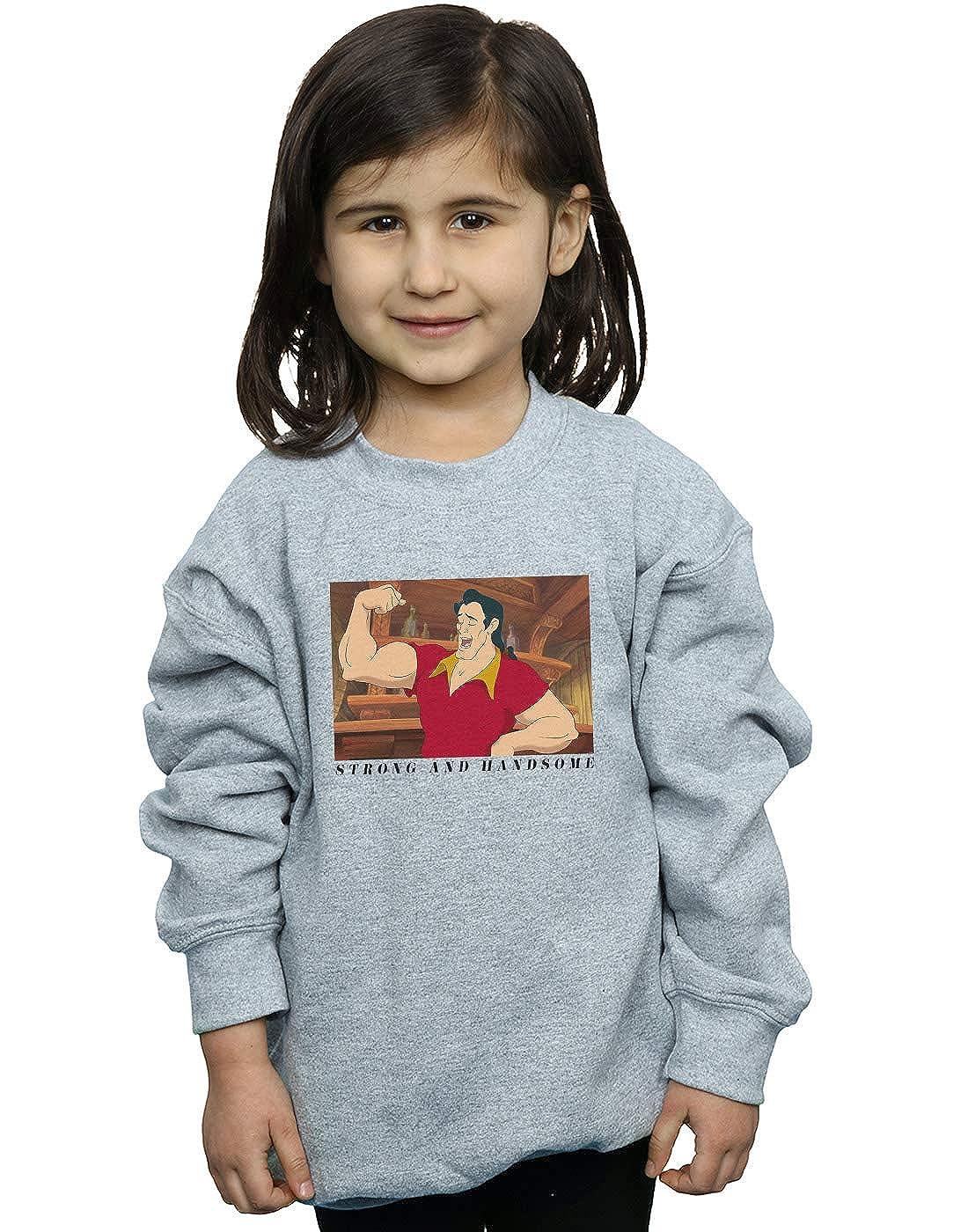 Disney Girls Beauty and The Beast Handsome Brute Sweatshirt