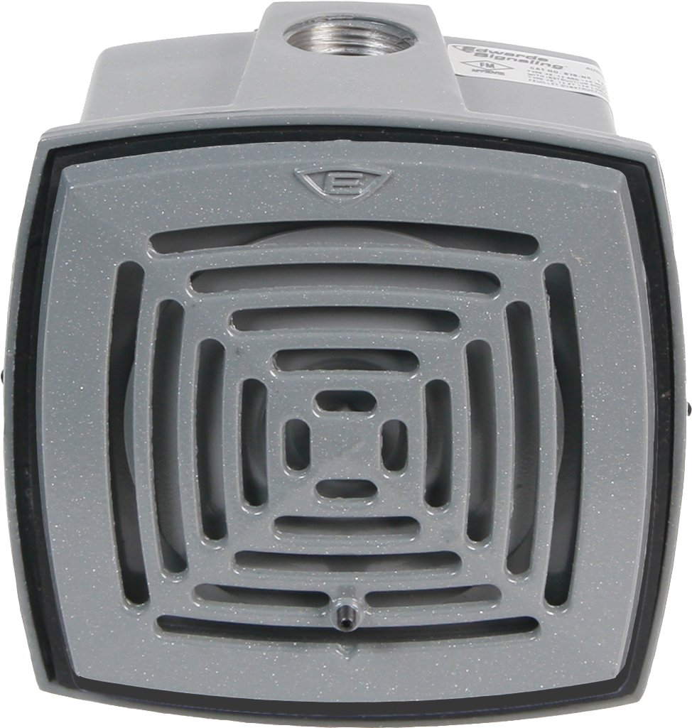 Edwards Signaling 876-N5 Vibrating Horn, Volume Adjustable, 113/103 db, 120V AC, Gray by Edwards-Signaling
