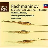 Rachmaninov: Complete Piano Concertos/Rhapsody on a Theme of Paganini