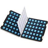 サンワサプライ SDメモリーカードファイルケース 両面収納タイプ 72枚収納 FC-MMC22SD