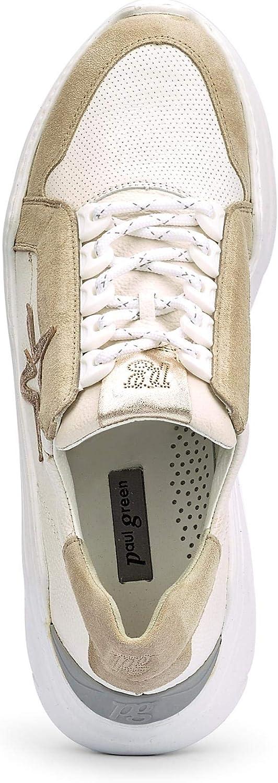 Paul Green Chaussures à Lacets pour Femme Beige