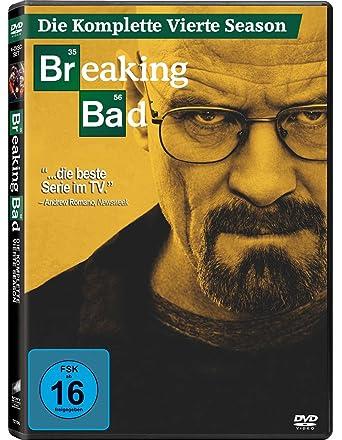 Breaking Bad Die Komplette Vierte Season 4 Dvds Amazonde Anna