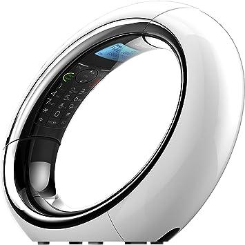 iDect Eclipse Plus teléfono inalámbrico digital con contestador automático y bloqueador de llamadas (blanco): Amazon.es: Electrónica