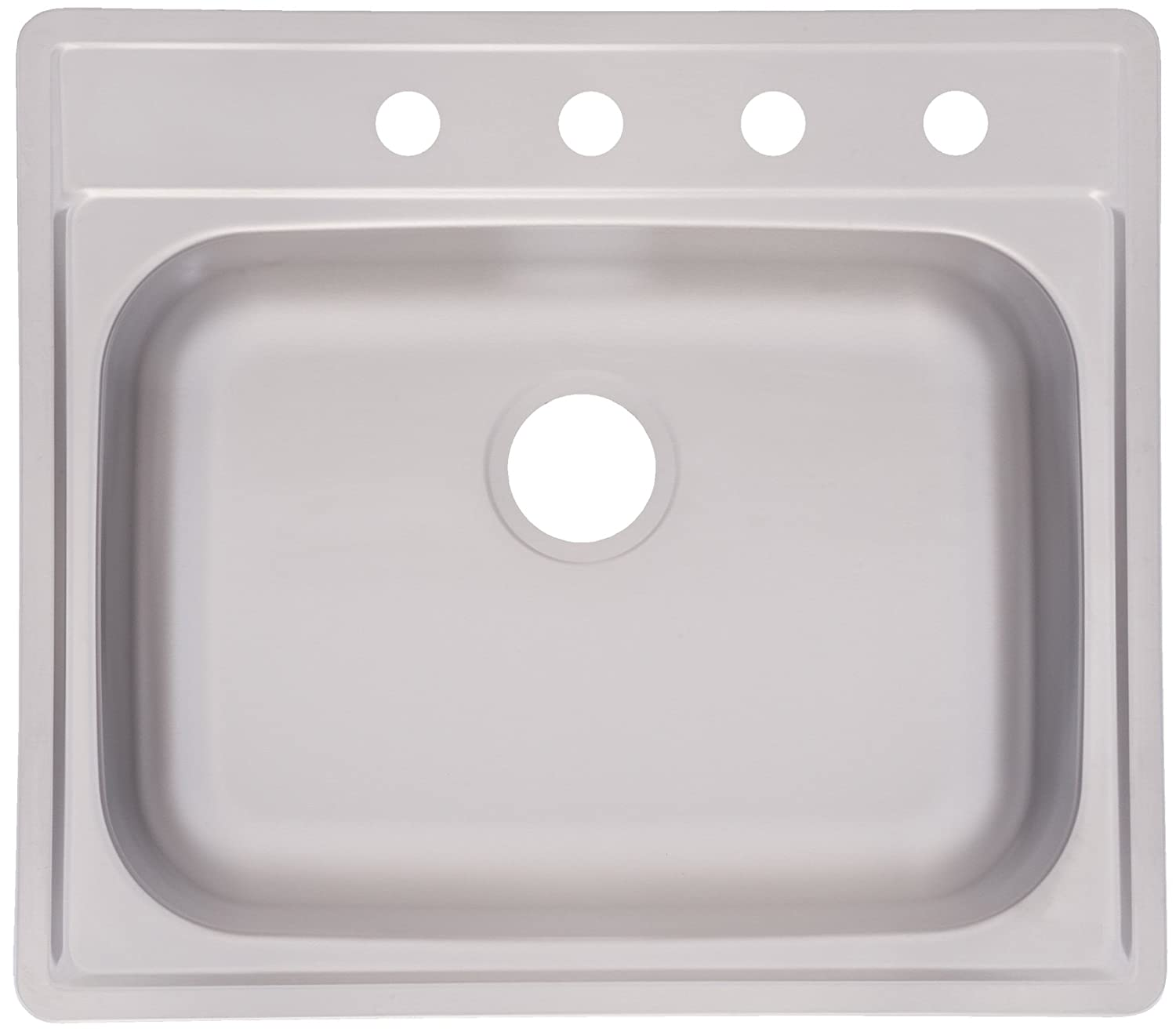 Kindred fss804nb single bowl stainless steel 25 x 22 in topmount kindred fss804nb single bowl stainless steel 25 x 22 in topmount sink stainless steel laundry sink amazon workwithnaturefo