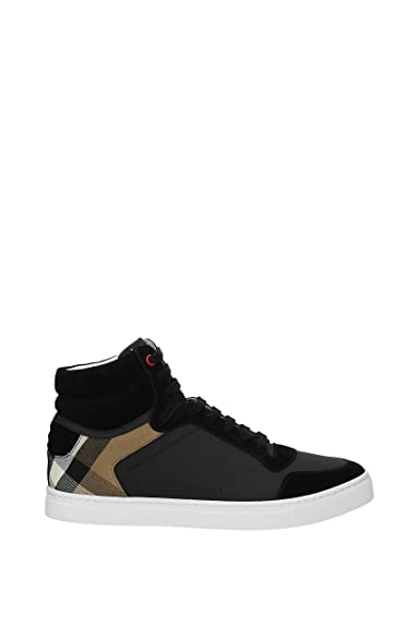 Burberry Sneakers Uomo Camoscio (40540) EU: Amazon.it