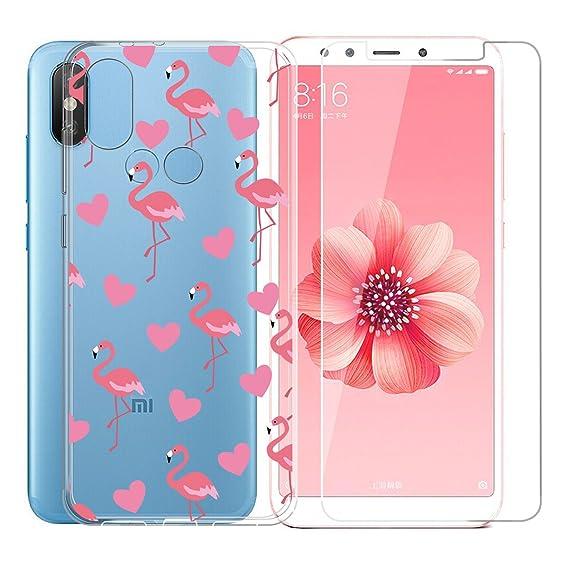 Amazon.com: Xiaomi Mi A2 / Mi 6X Case,JIENI Transparent ...
