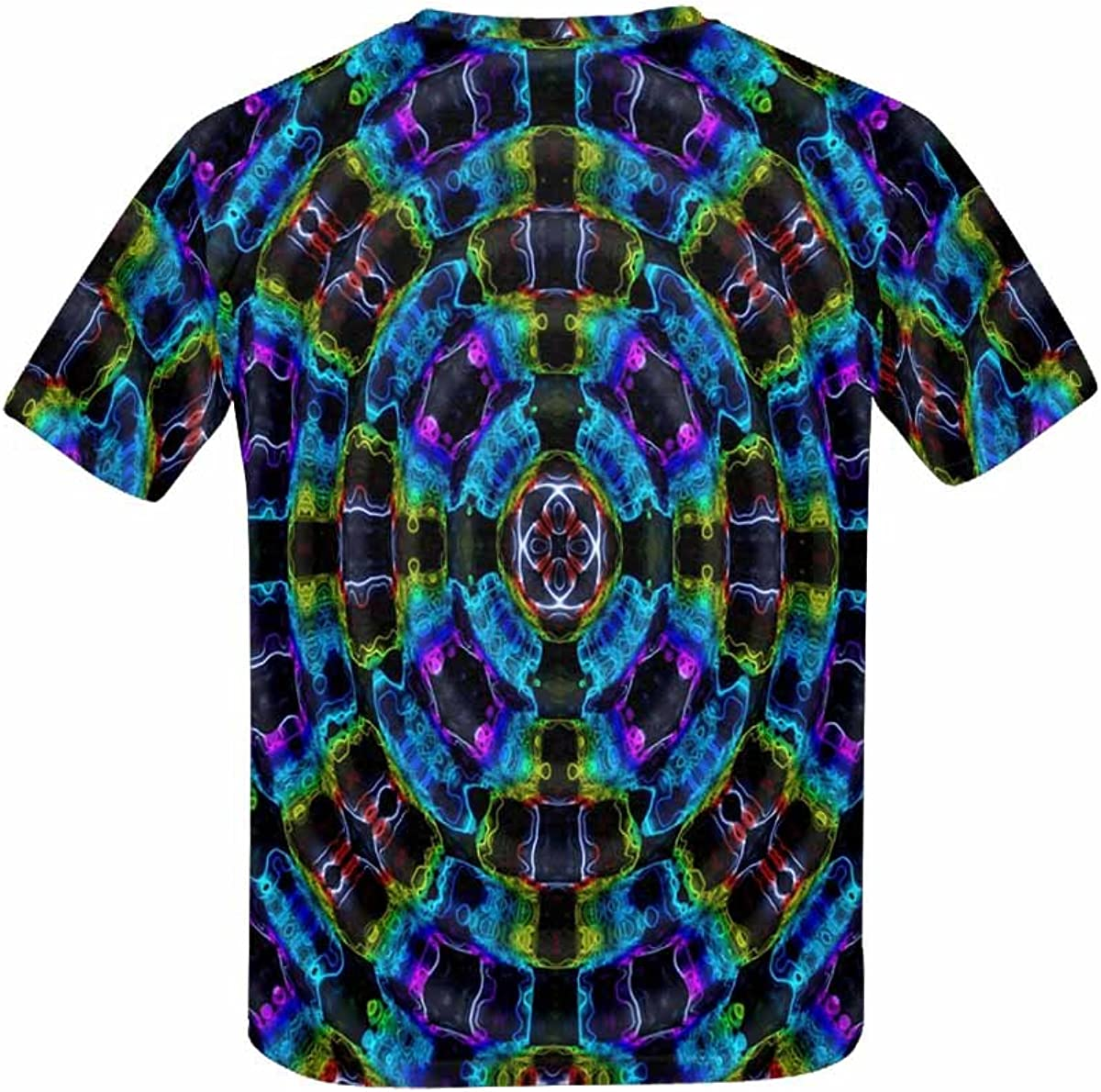 XS-XL INTERESTPRINT Kids T-Shirt Colorful Graphics Pattern Quadrangle
