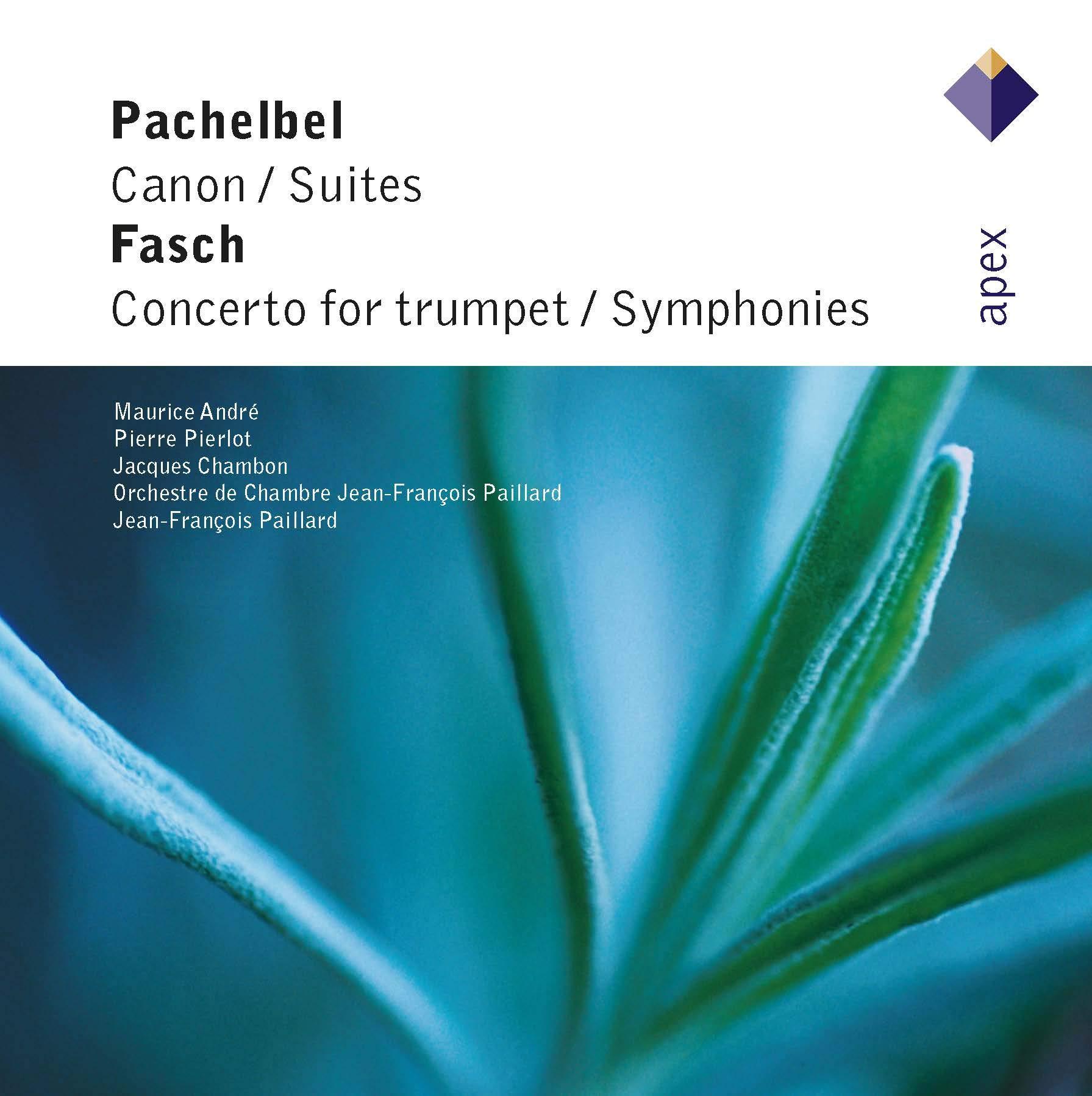 Pachelbel: Canon / 2 Suites / Fasch: Trumpet Cto by ERATO