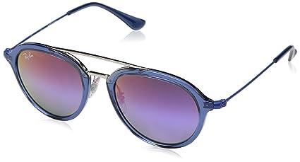 Ray-Ban Junior 0Rj9065S Gafas de sol, Transparente Blue, 48 ...