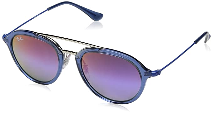 Ray-Ban Junior 0Rj9065S Gafas de sol, Transparente Blue, 48 ...