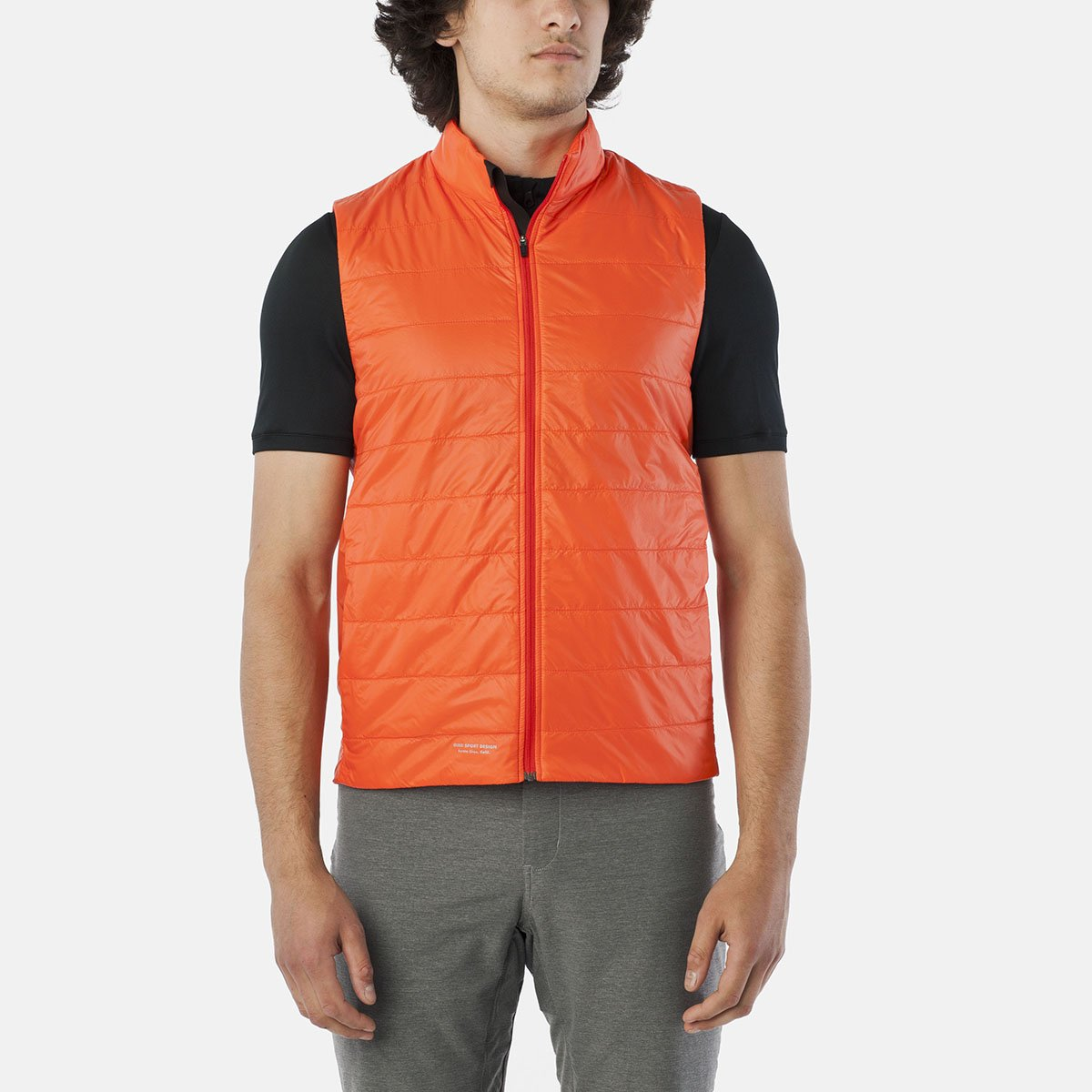 Giro Weste Insulated Herren Glowing ROT