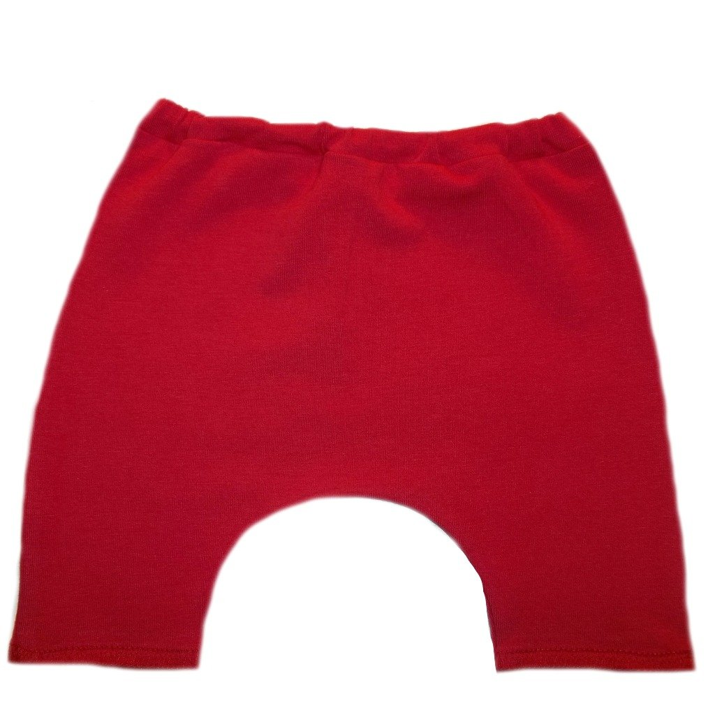 6 Sizes Made in the USA! Jacquis Baby Girls Red Bike Shorts