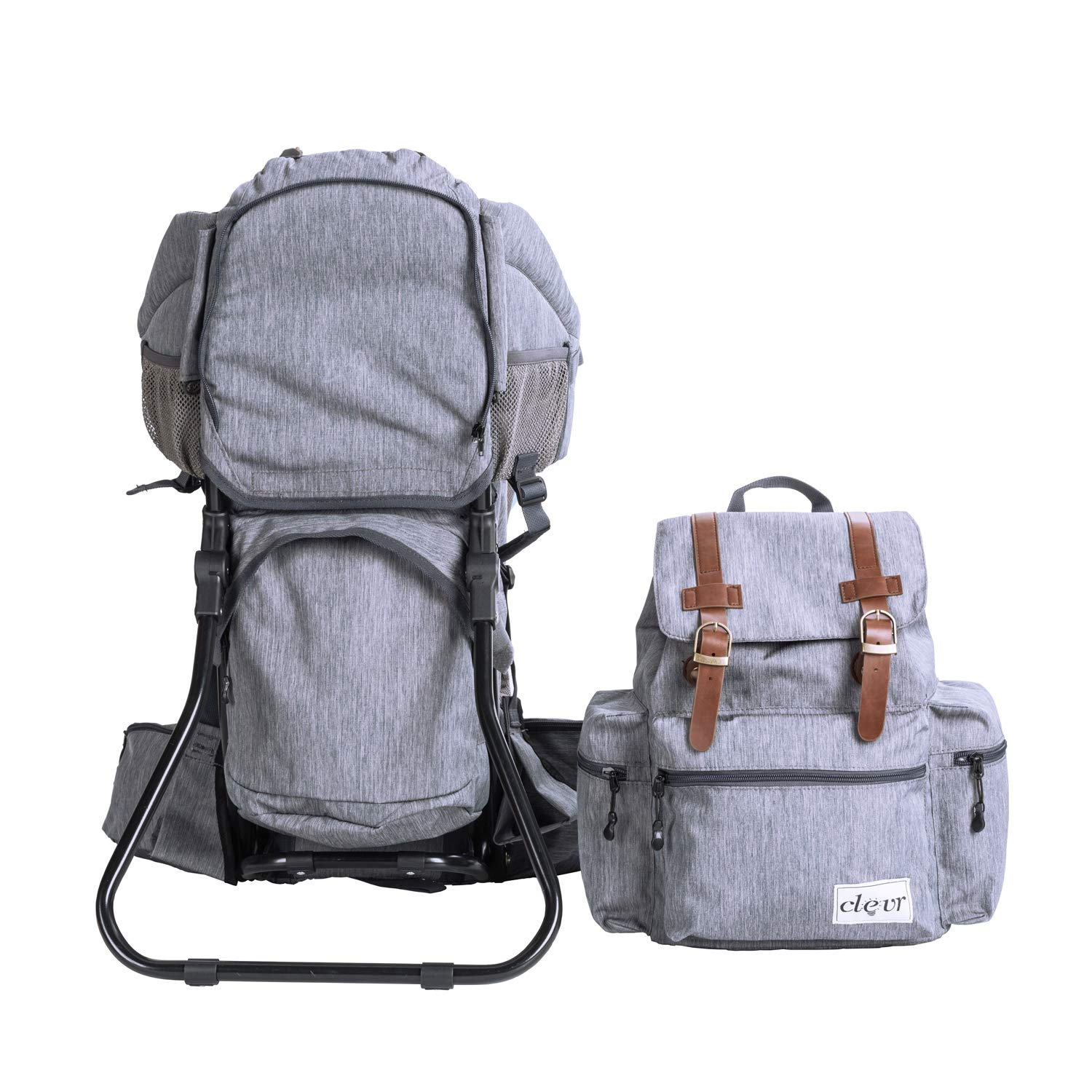 dec9f58d390 Amazon.com   Clevr Urban Explorer Hiking Baby Backpack Child Carrier ...