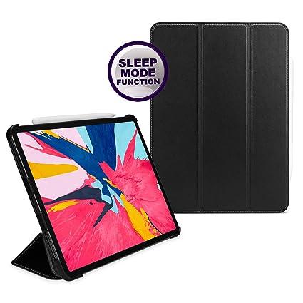 san francisco 29ac7 d12b7 TETDED Premium Leather Trifold Case for Apple iPad Pro 11