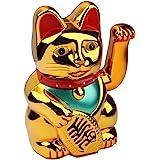 S/O Chat doré qui fait un signe Chat porte-bonheur chinois