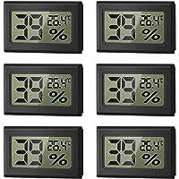 WeChip Mini Termómetro Higrómetro Digital Interior de Temperatura y Humedad, LCD Digital portátil Medidor de Humedad…