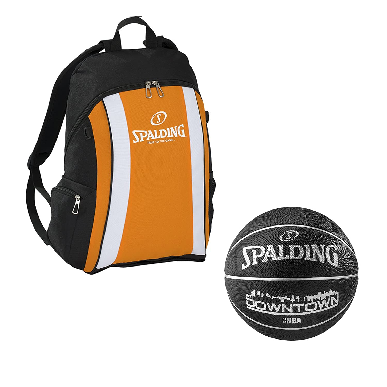Spalding Baloncesto Set Mochila con Pelota de Red con Pelota ...