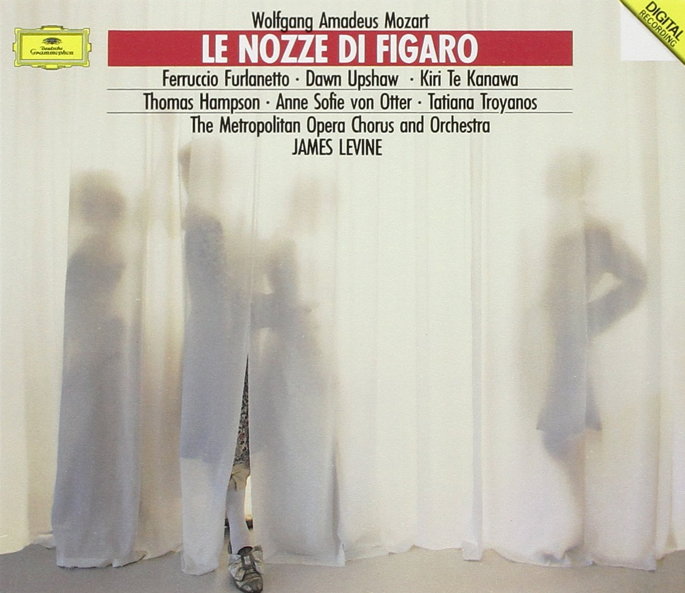 Le Nozze Di Figaro [3 CD Box Set] by DEUTSCHE GRAMMOPHON