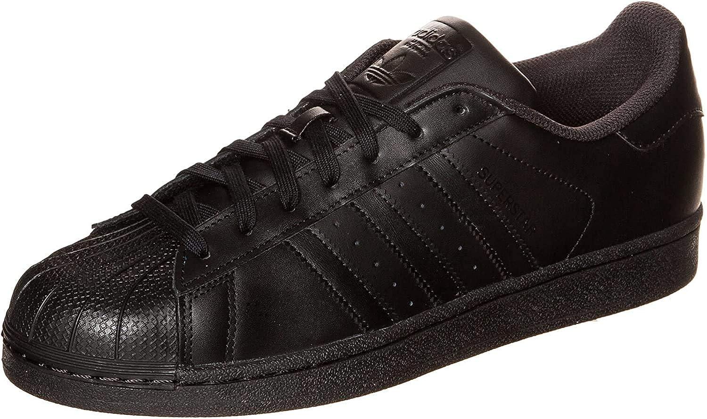 adidas Originals Superstar, Zapatillas Unisex Adulto, Negro (Core Black/Core Black/Core Black), 44 2/3
