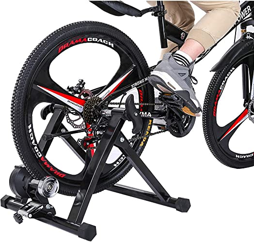 Bike Trainer Stand Steel Bicycle Exercise Magnetic Stand