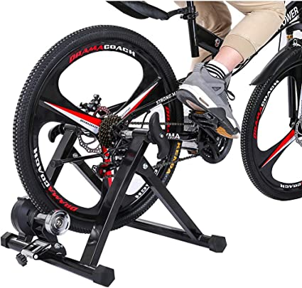 Amazon.com : Eimvano Magnetic Bike Trainer Stand, Portable Indoor ...