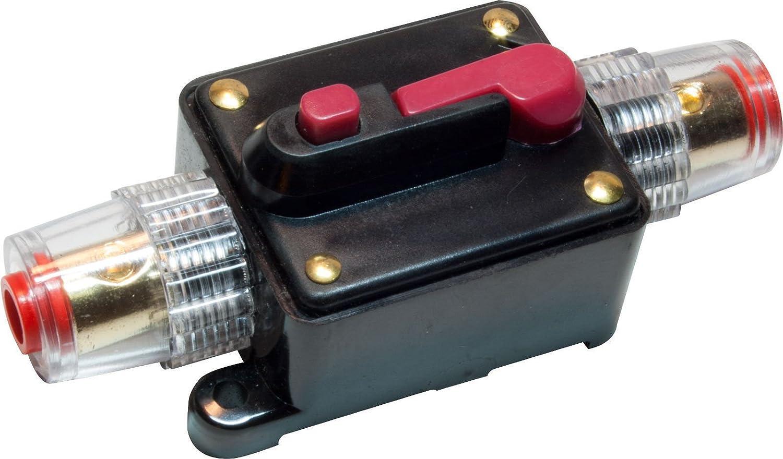20A Car Audio Inline Circuit Breaker Fuse Holder 12v-24v System Protection Black R SODIAL Circuit Breaker
