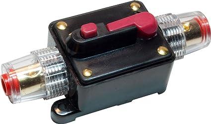amazon com 12v dc car audio inline circuit breaker fuse for system rh amazon com