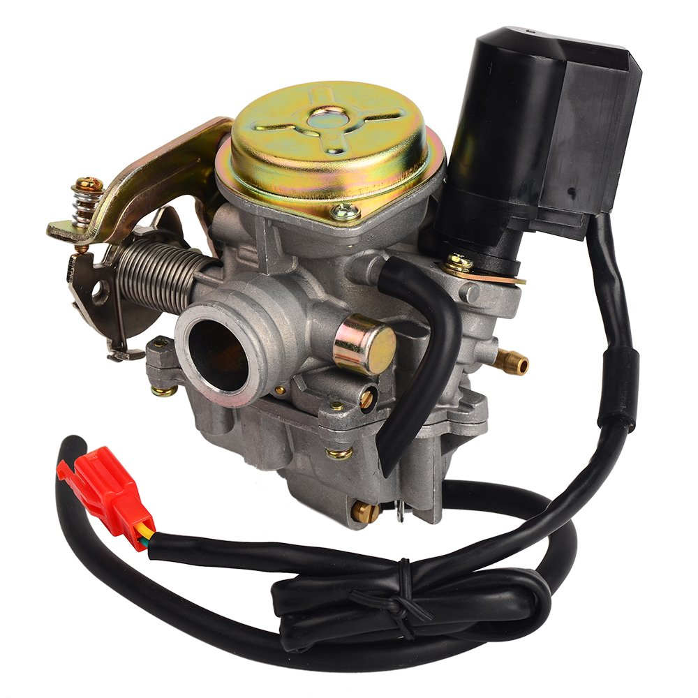 HIFROM TM Carb Carburetor for Scooter 50cc Chinese GY6 139QMB Moped 49cc 60cc by HIFROM (Image #2)