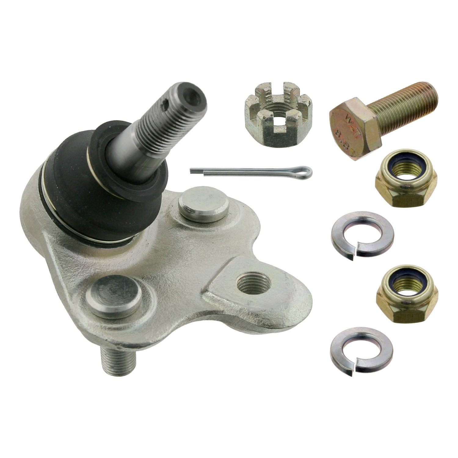 febi bilstein 12933 ball joint with add-on material (bottom front axle, on both sides) - Pack of 1