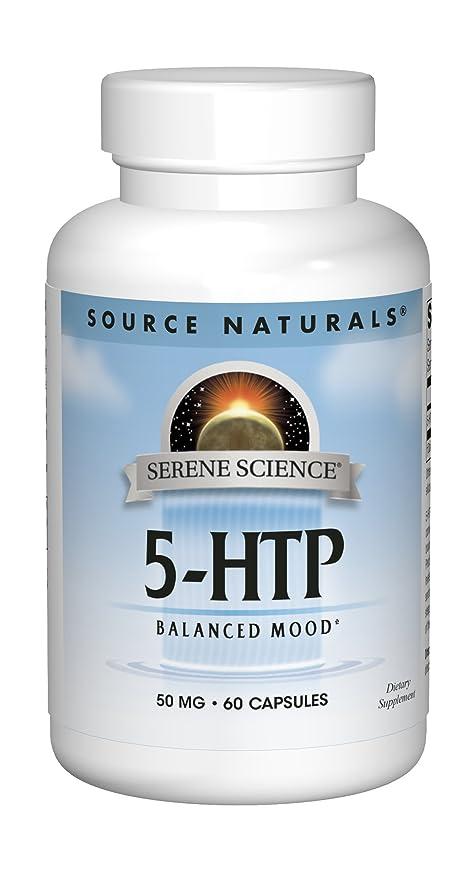 Source Naturals - 5-HTP L-5 hidroxitriptófano 50 mg. - 60 cápsulas ...