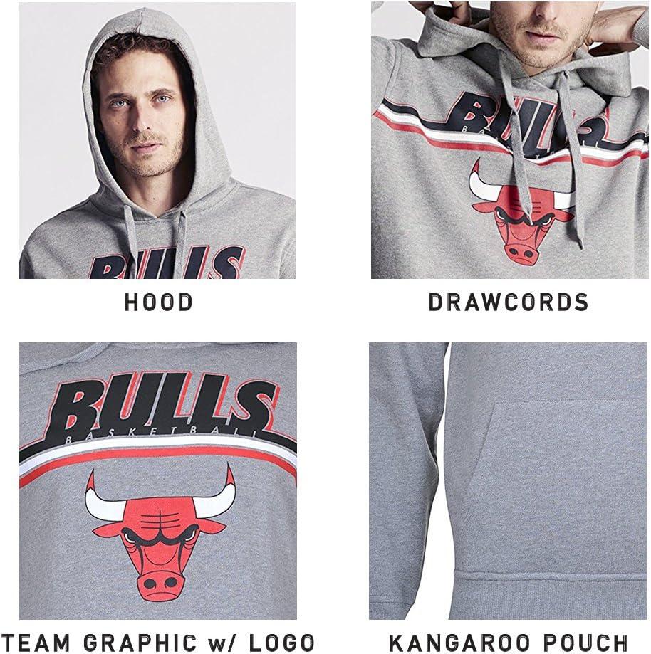 Ultra Game NBA Mens Soft Fleece Pullover Sweatshirt Hoodie