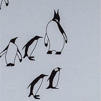 891c881ed02 Bio Jersey Fabric Penguin Sky Blue Cat Chocolate - width 160 cm - Choose  your Own Length in 50 cm: Amazon.co.uk: Kitchen & Home