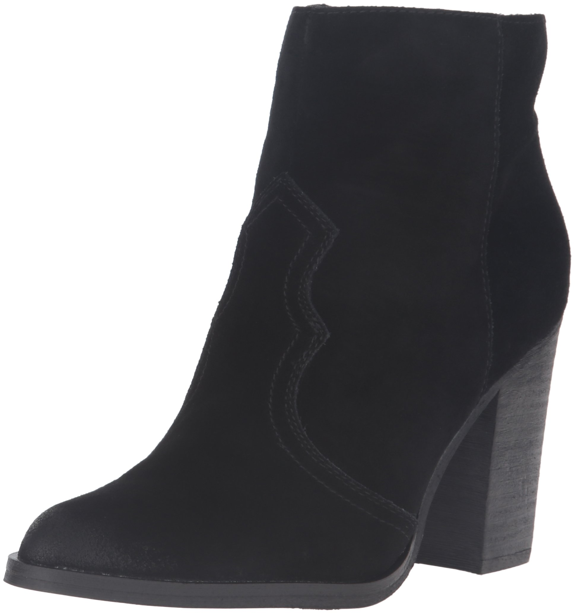 Dolce Vita Women's Caillin Ankle Bootie,Black,8.5 M US