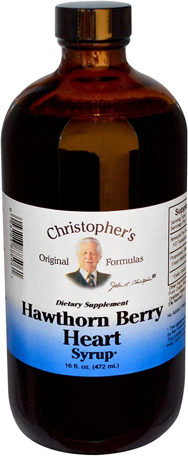 Christopher s Hawthorn Berry Heart Syrup — 16 fl oz