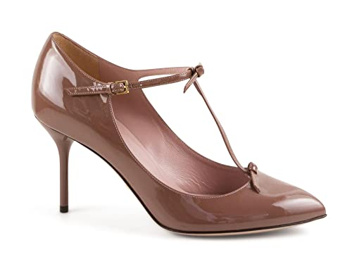 30aaa2936848 Gucci Women s Mauve Patent Leather Pumps - Heels Shoes - Size  37.5 ...