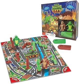 Mega Monster City Smash Game (Giant Ape and Lizard) by Continuum Games: Amazon.es: Juguetes y juegos