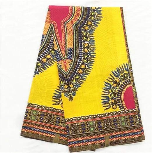 Tela de cera africana con estampado de cera de algodón para ropa ...