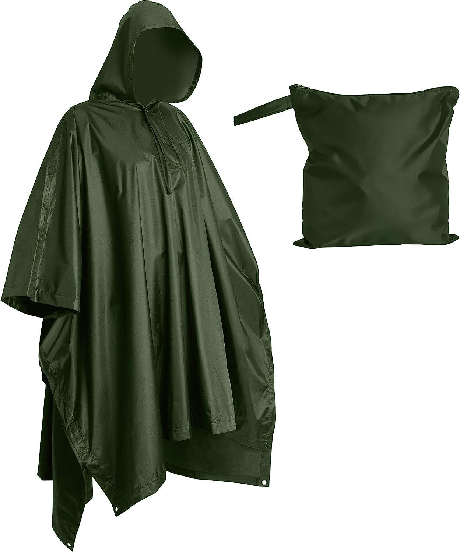 breathable rain poncho