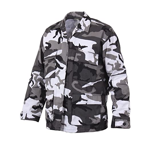 aa73466687d7f Amazon.com: Rothco Color Camo BDU Shirt: Sports & Outdoors
