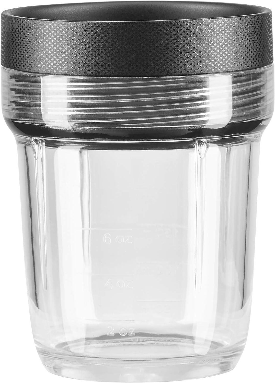KitchenAid KSB2040BBB K150 and K400 6-oz. Small Batch Jar Blender Expansion Pack, 6 oz, black