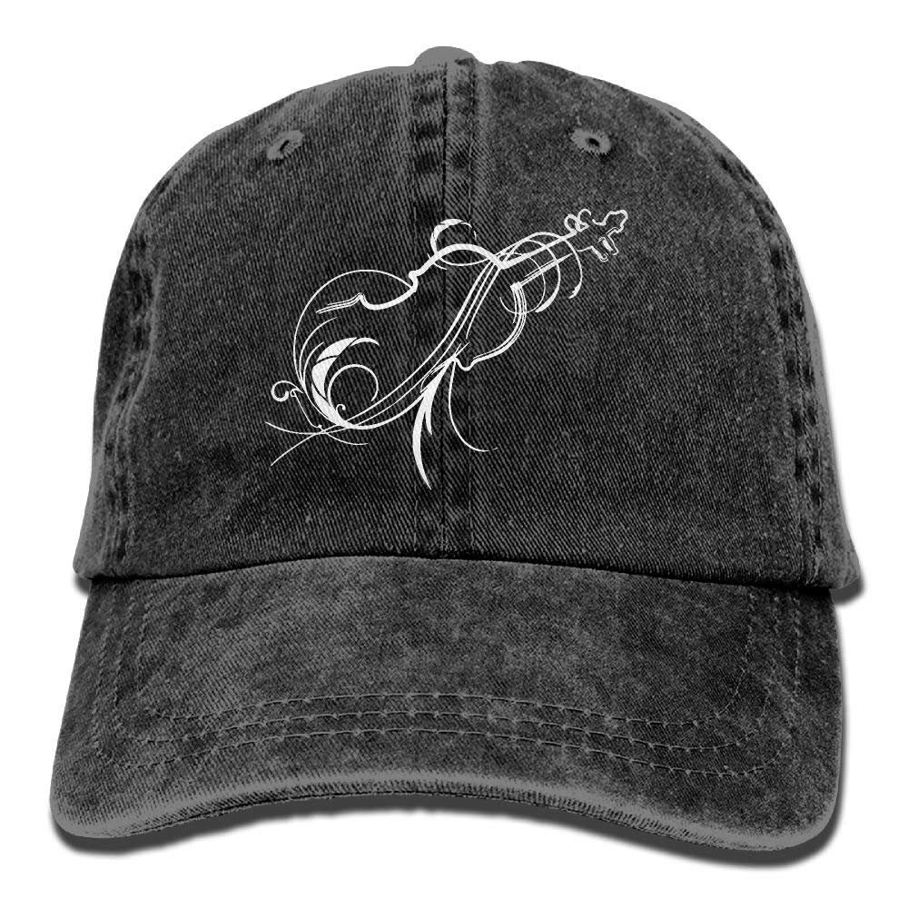 N-A Black Trucker Hats for Men Embroidered Cap Embroidery Snapback Hat Clown M