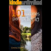 101 razones para odiarla (Spanish Edition) book cover