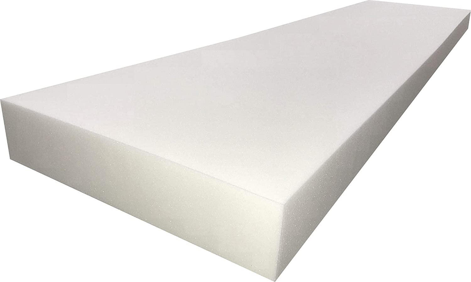 FoamTouch Upholstery Foam Cushion High Density 3 Height x 24 Width x 84 Length Made in USA