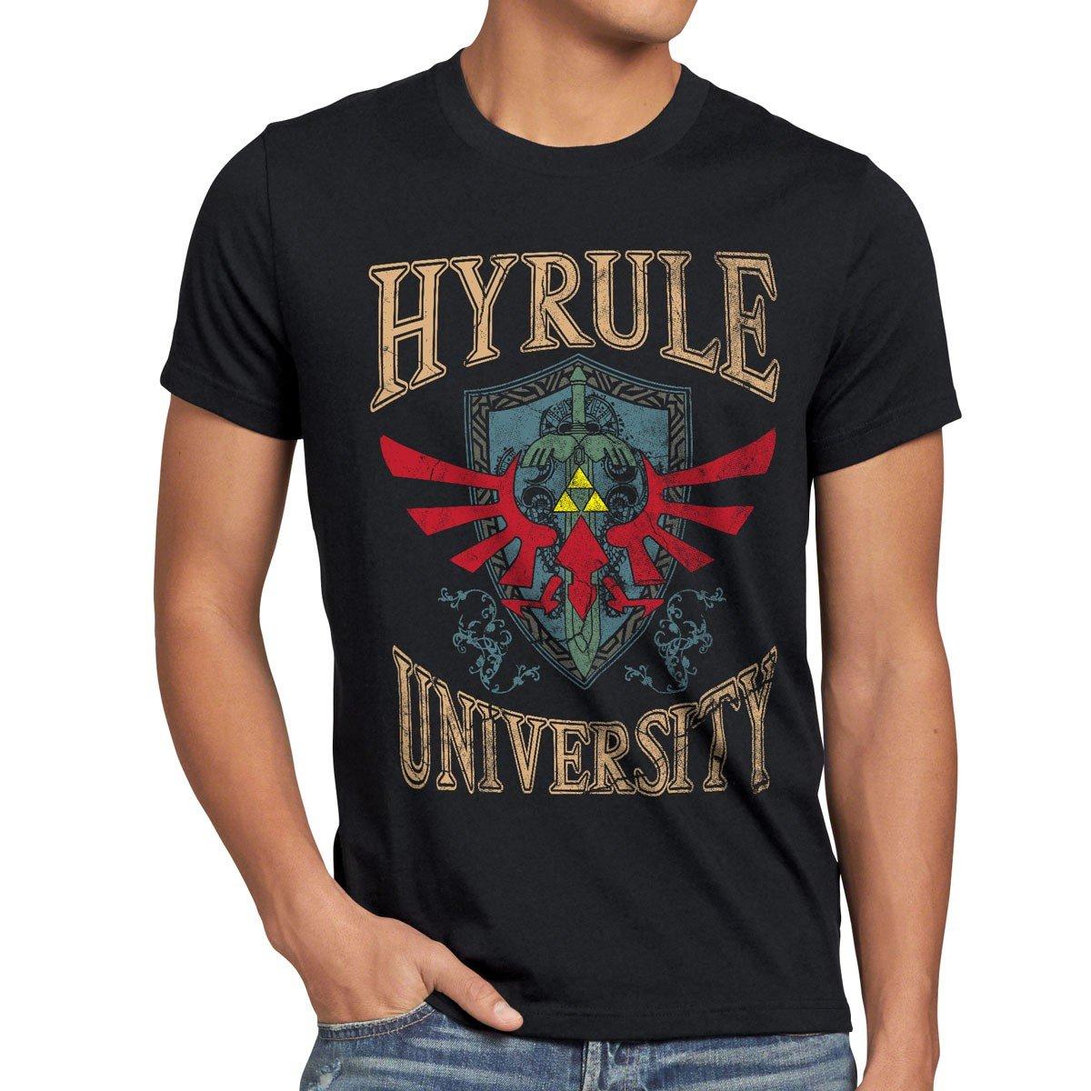 Camisetas La Colmena 682-Hyrule Univeristy (Arinesart) QMTdbz