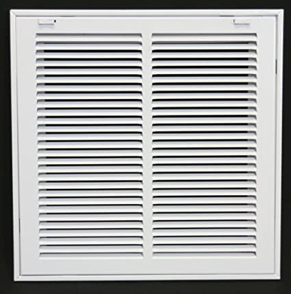 f0622d1e5a3 14 quot  X 14 Steel Return Air Filter Grille for 1 quot  Filter - Removable  Face