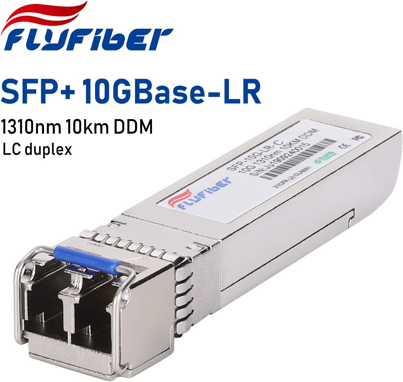10GBASE-LR Module for HP J9151A 1310nm, DDM, 10km LC Single-Mode Transceiver 10 Gigabit SFP