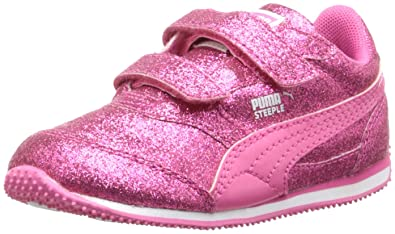 848714f113d136 PUMA Steeple Glitz Glam V Kids Sneaker (Toddler  Little Kid Big Kid)