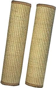 """nazva Cat Scratcher Sisal Mat Rug Pad - 2 Pack x 16"""" x 12"""" Each - Natural Scratch Velcro Furniture Protectors"""