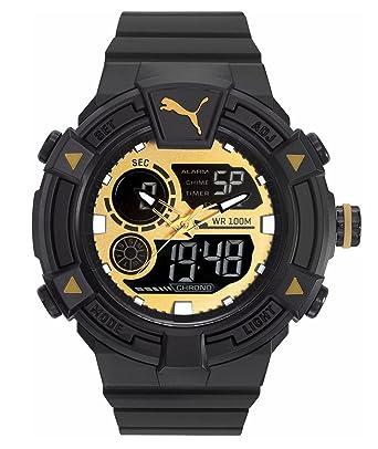 Puma Reloj Analógico-Digital para Hombre de Cuarzo con Correa en Plástico PU911391004: Amazon.es: Relojes